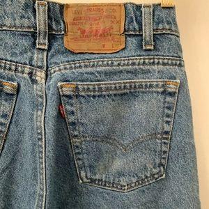 vintage Levis 505 4891 made in USA regular fit
